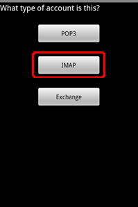 androidaccttype4imap